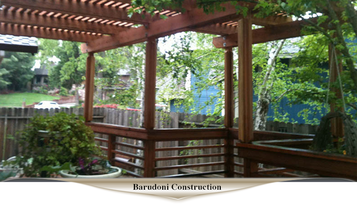 In the greater Sacramento area, Barudoni Construction can build the deck to meet your dreams and exceed your expectations.
