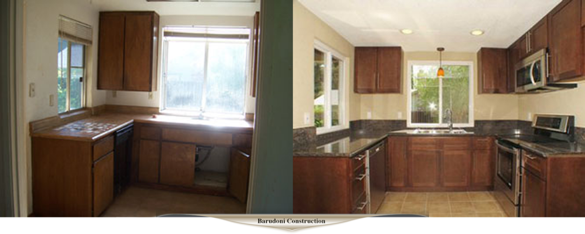 Before After Remodeling Barudoni Construction