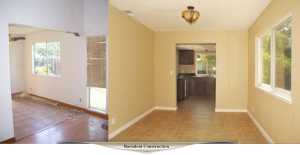 Dining room remodel.