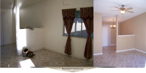 Dining room remodel,