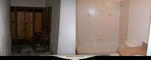 One week Bathroom remodel.