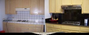 Partial kitchen remodel