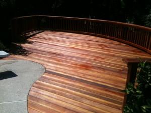Redwood Pool Deck