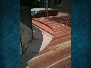 Rounder Redwood Deck 1