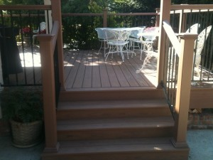 Steps and Patio Deck