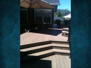 Timber Tech Deck