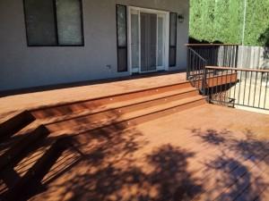 Balcony composite Deck. El Dorado Hills CA