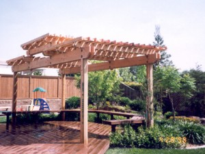 Redwood Deck & Patio Cover Roseville CA