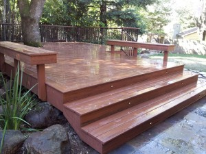 Composite Timber Tech Deck, El Dorado Hills, CA