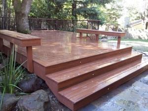 Composite Timber Tech Deck, El Dorado Hills, CA