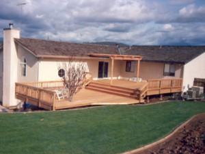 Redwood Deck & Patio Cover, Cameron Park, CA