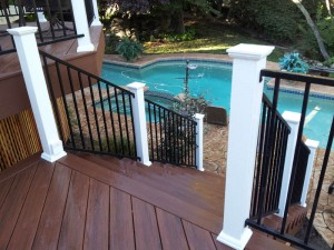 Timber Tech Composite Deck, Granite Bay, CA