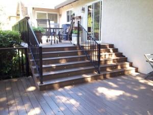 Trex Composite Deck, El Dorado Hills, CA