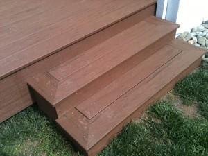 Timber Tech Composite Deck. Sacramento, CA