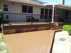 Timber Tech Composite Deck, Fair Oaks, CA