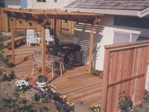 Redwood Deck & Patio Cover. Roseville, CA