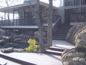 Composite Trex Deck, Rancho Murrieta, CA