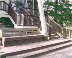 Composite Trex Deck. Rancho Murrieta, CA