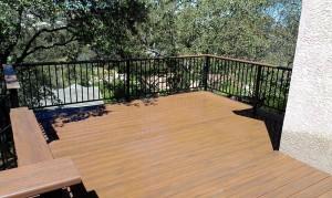 Timber Tech Composite Deck. El Dorado Hills, CA