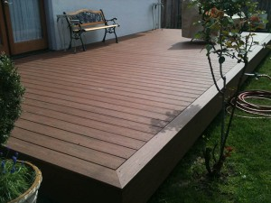 Picture Frame Composite Timber The Deck. Carmichael, CA