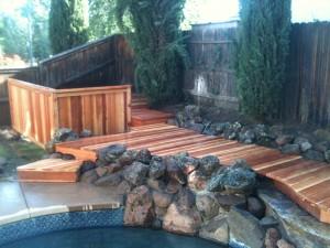 Redwood Deck. Folsom, CA