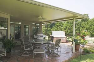 Solid Roof Patio Cover. Elk Grove, CA