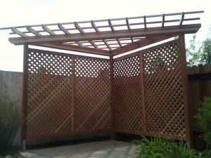 Redwood Patio Cover. Elk Grove, CA