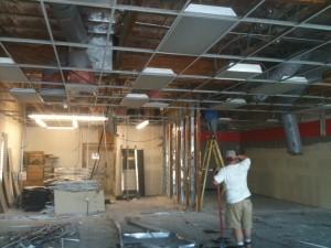 Demolition for a new Smash Burger