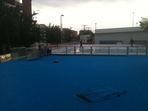 Ice Rink Construction Burbank