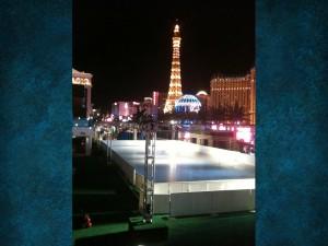 Ice Rink Construction Las Vegas, Cosmopolitan Hotel 2014